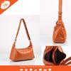 PUB-2014019 Camel canvas drawstring bag tote bag canvas tote bag leather handle