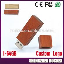 Marketing Gift Wooden USB Flash Disk USB Flash Drive 1GB to 64GB MX2204