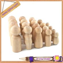 Jieyi OEM wooden peg dolls