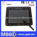 buena venta ugee m860 de alta calidad de dibujo de gráficos junta