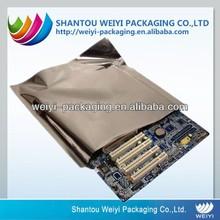 Heat sealing aluminum foil electronics antistatic bag with printed