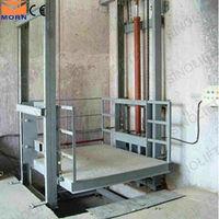 5m lead rail hydraulic cargo lift system