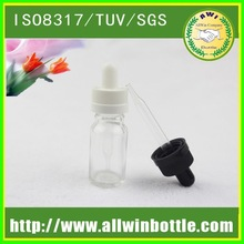 clear/amber/blue or colorful glass bottle 30ml child safe and tamper evident cap