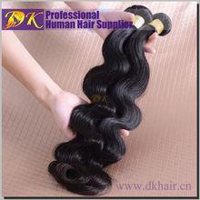 Factory Wholesale DK Best selling brazilian hair body wave,fr+alibaba