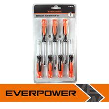 Cr-V Steel Mobile Phone Repair Tool Kit, Hot Sale Laptop Repair Tool Kit, 7pc Screw Driver Set