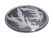 Umo tiger chrome auto emblem