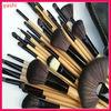 YASHI 32 pcs professional wooden handel high quality brushes makeup for wholesale