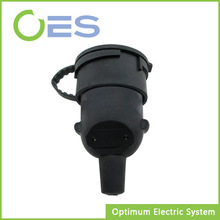 2014 New Design 16A Waterproof (IP65) 2P+T Socket with Waterproof Ring