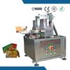 Chinese hi-tech semi automatic carton box hot melt gluing machine
