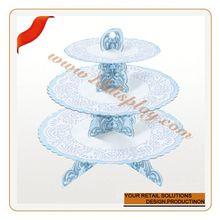 su misura casa stoviglie cinderella cristallo torta trasporto sbalzato torta stare