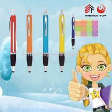 2014 promotional banner pen print calendar with custom
