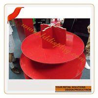 Customized acrylic cupcake tower stand pop ice cream holder cake stand