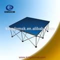 inteligente de aluminio plegable portátil dj etapa plataforma plegable con bandas