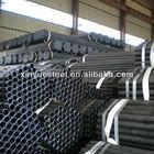 BS1387 Scaffold pipe black galvanized