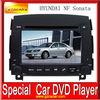 Hot sale car DVD navigation system touch screen car dvd player for HYUNDAI NF Sonata