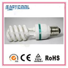 CE standard cfl lamp holder with spiral shape T4 Energy Saving Bulb