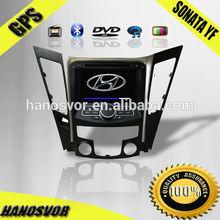 HANOSVOR gps dvd hyundai sonata 2012 car audio radio player gps navigation system