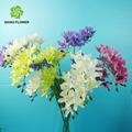 as flores artificiais artificiais de orquídeas plantas de flores para decoração de vasos de barro