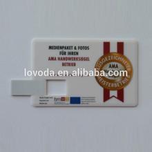 Top Sale High Quality Promotional custom credit card usb flash drive usb card,512gb usb flash drive, 2g usb flash drive LFNC-004