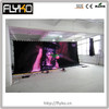 Hot selling china led star curtains cheap sheer black curtains,made in china indoor curve led star curtain