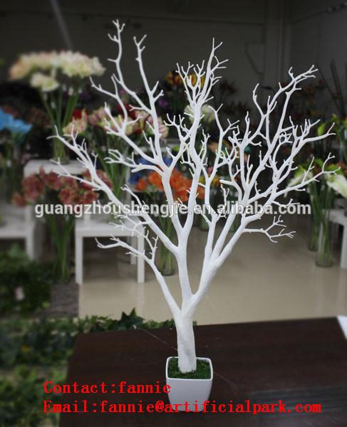 Buatan kering dekorasi / buatan cabang-cabang pohon tanpa daun kering