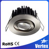 8W Fire resistance Adjustable Recessed LED downlight