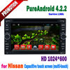 6.2inch Touch Screen car dvd nissan qashqai TIIDA X-TRAIL PATHFINDER...car radio dvd with GPS free wifi dongle Android 4.2.2