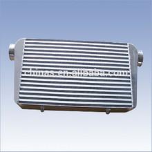 high performance aluminum bar& plate turbo aluminum front mount turbo intercooler 500x300x76mm