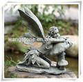 Hot vintage. maisondécor grèce marbre sculpture déesse de fées de jardin