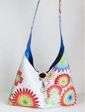2015 Fashion Canvas Pattern Floral Shoulder Bag Handbag Wholesale in China Shoulder Bag LF0146