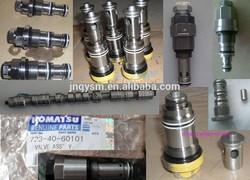 low price excavator spare parts WA320-3 WA350-1 hydraulic relief valve