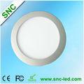 Caliente la venta de shenzhen snc blanco precio del mercurio 10w ronda led de la lámpara del panel tuning/anillo de luz 21 para siempre