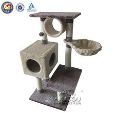design unico qquan durevole di legno gatto di casa per esterni
