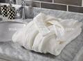 Largo- de algodón de manga sleepware túnicas
