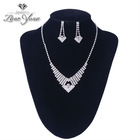 2014 Hot sale fashion jewellery necklace set jewellery shop names