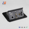 USB VGA RCA Ports Tabletop Interconnect Box