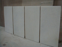 marble tile in white color