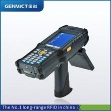 IP65,Rugged 3.5inch screen Windows CE PDA handheld rfid reader(NFC/HF/UHF)