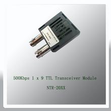 500Kbps 1 x 9 TTL Transceiver Module 0.5KM