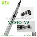 Melhor venda de produtos descartáveis cigarro eletrônico, vamo v5 recarregável e cigarro