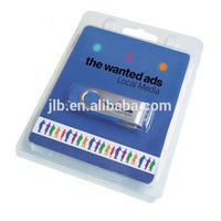 cheap usb stick blister package,cheap clamshell blister package for sale,custom usb stick packaging box