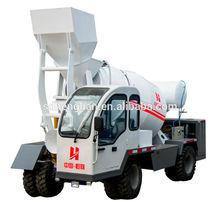 3m3 self loading concrete mixer with Cummins engine