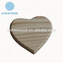 Wood heart stick craft