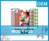 Custom cell phone case maker make case for iphone 4s by 3d sublimation printing on the shell
