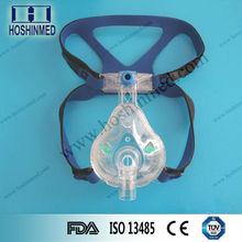 Embalado individualmente soft estéril transparente CPAP liberan el máscara para un solo uso