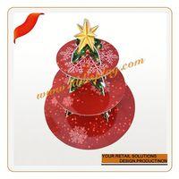 Customized cheap porcelain heart cake plate strawberry shaped cake decoration