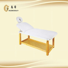 Adjustable and beauty furniture massage bed for salon with CE spa facial bed