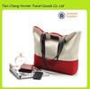 China supplier fashion canvas shoulder bag big bag for lady