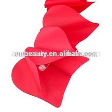 Tissue supplies red heart paper garland wedding decoration