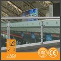 vidrio balcón barandilla de los modelos de escaleras en elinterior